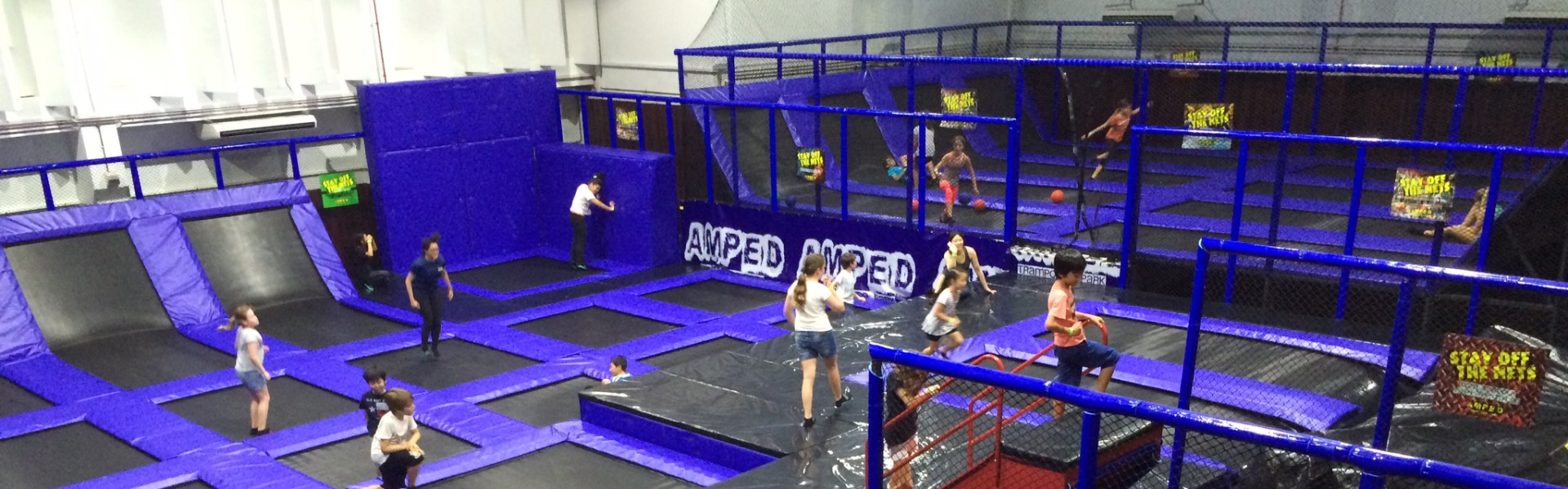 Singapore's FIRST Indoor Trampoline Park