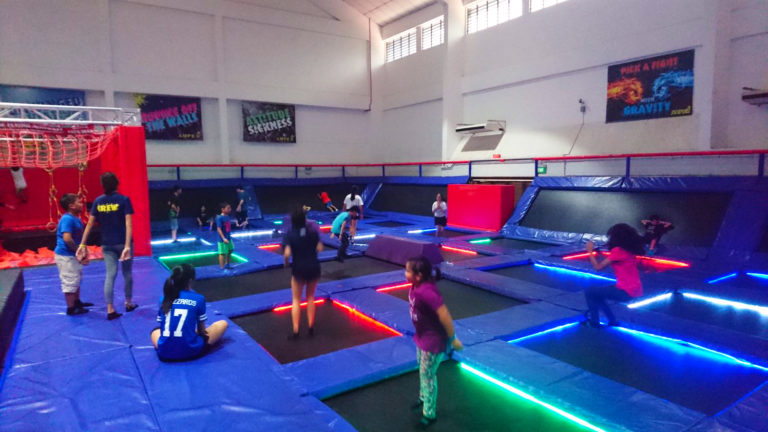 MultiVisit AMPED Trampoline Park - Singapore